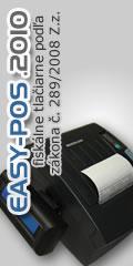 Fiskálne tlačiarne EASY-POS.2010